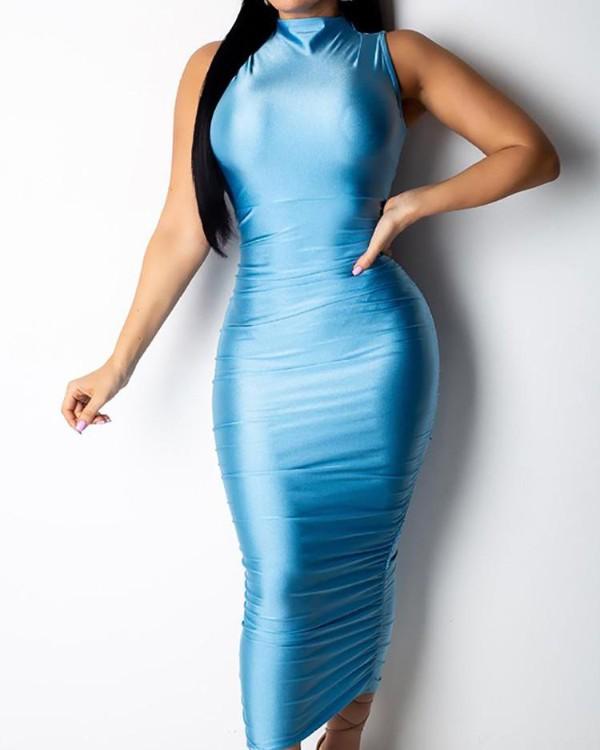 Nightclub Smooth Scrunch Dress