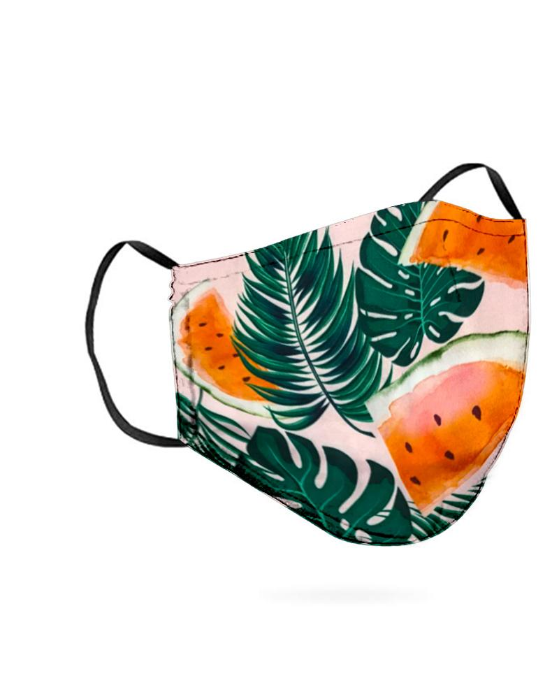 Leaf Print Breathable Mouth M .a. s. k Washable And Reusable фото