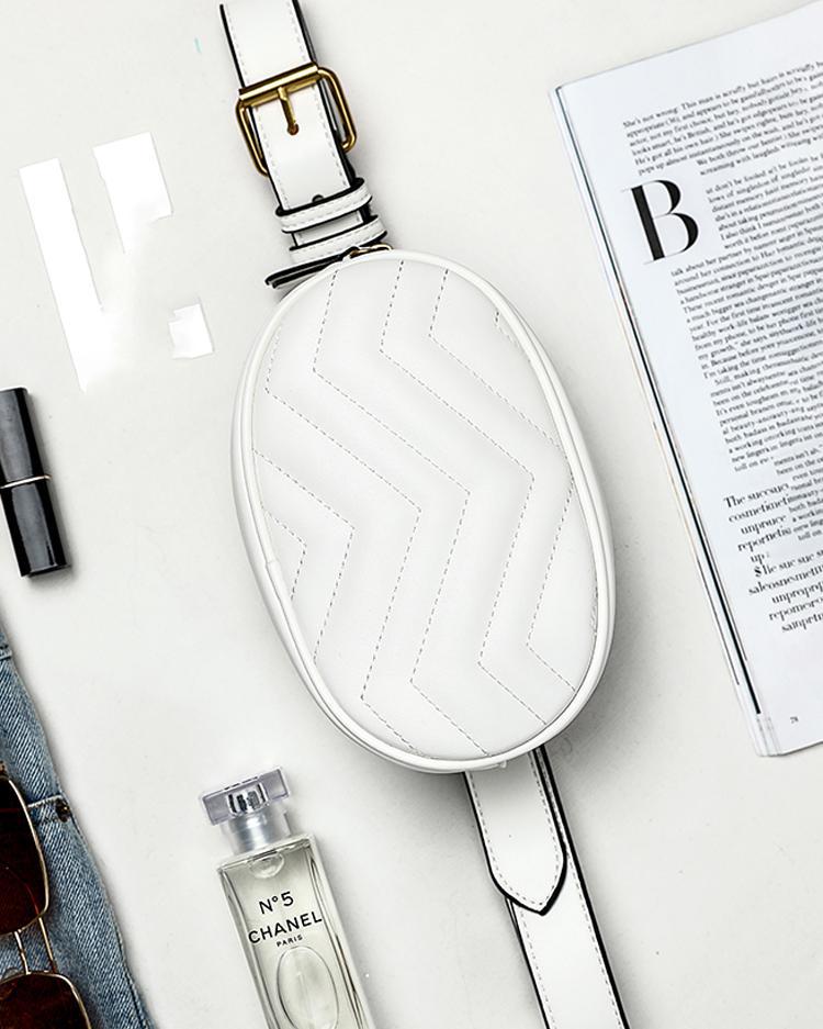 Fashion Metallic Embellished Waist Bag