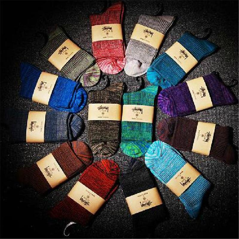 5 pairs/lot Men Cotton Socks Casual Sock Deodorant Socks