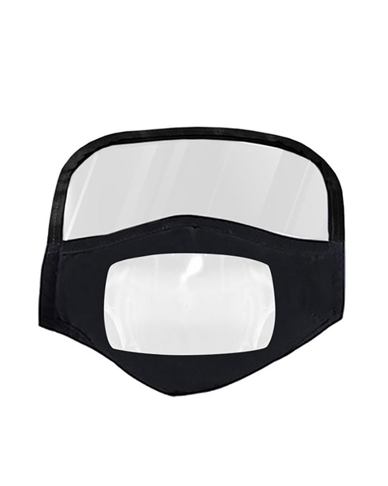 ivrose / Mascarilla con ventana transparente Expresión visible para sordos y con problemas de audición