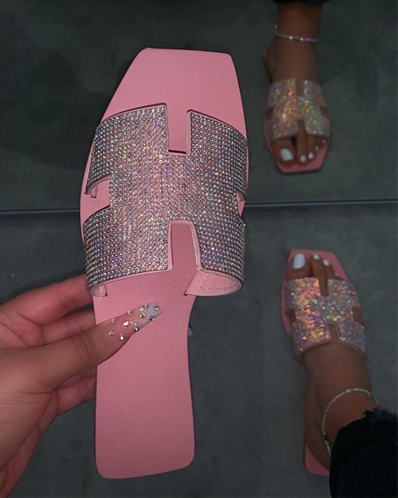 Casual Open Toe Flat Sandals фото