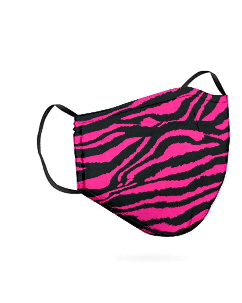 Zebra Print Breathable Mouth M .a. s. k Washable And Reusable фото