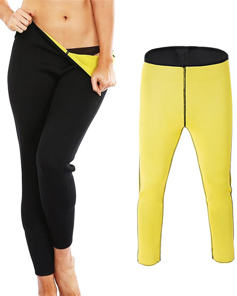 Neoprene Slimming Pants High Waist Tummy Control Shapewear фото