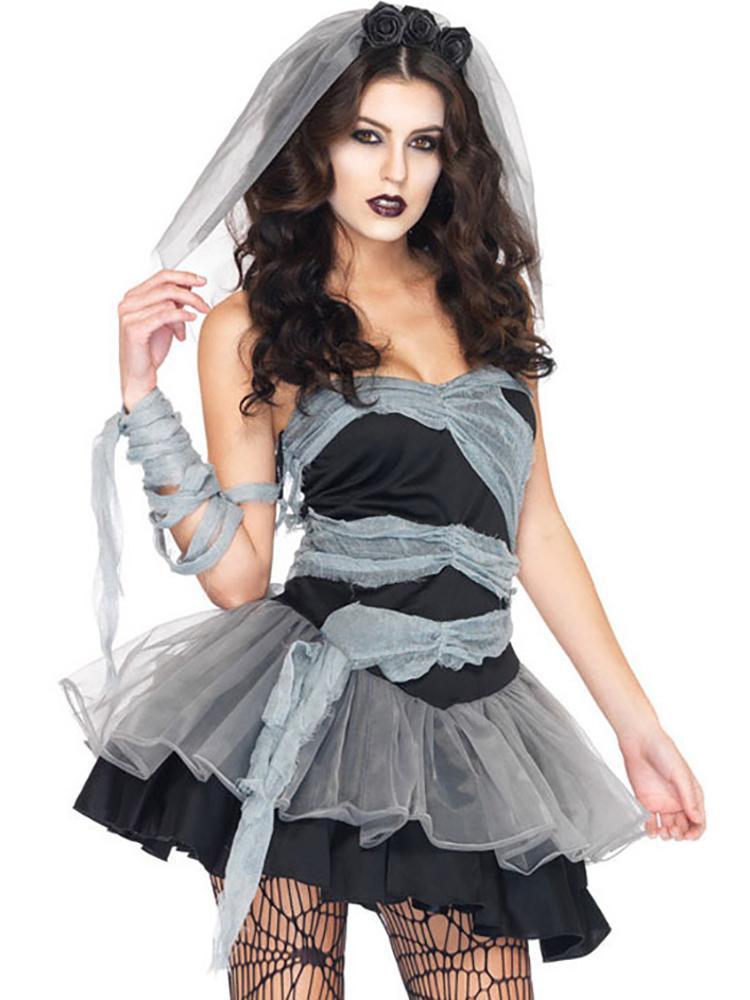 Till Death Do Us Part Zombie Bride Dress