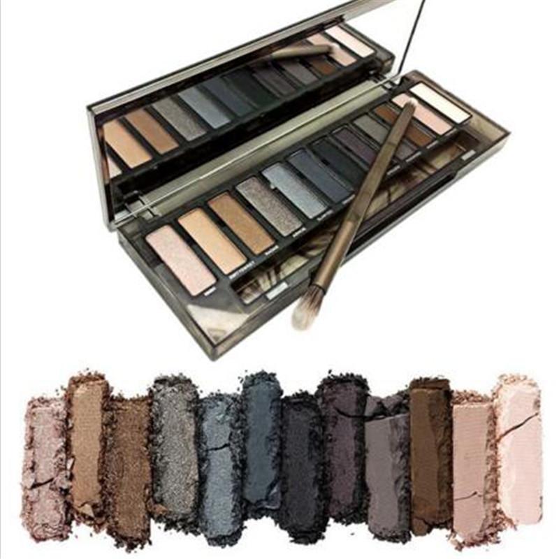 NAKE smoky Makeup Eyeshadow Palette Brand make up Cosmetics Professional 12 Colors Eye Shadow with Brush