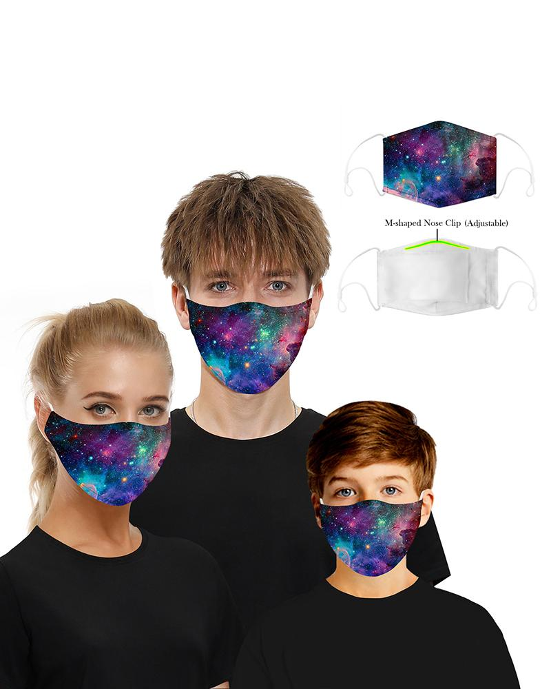 Print Mouth M .a. s. k Breathable Washable And Reusable With 2PCS Replaceable Filter фото