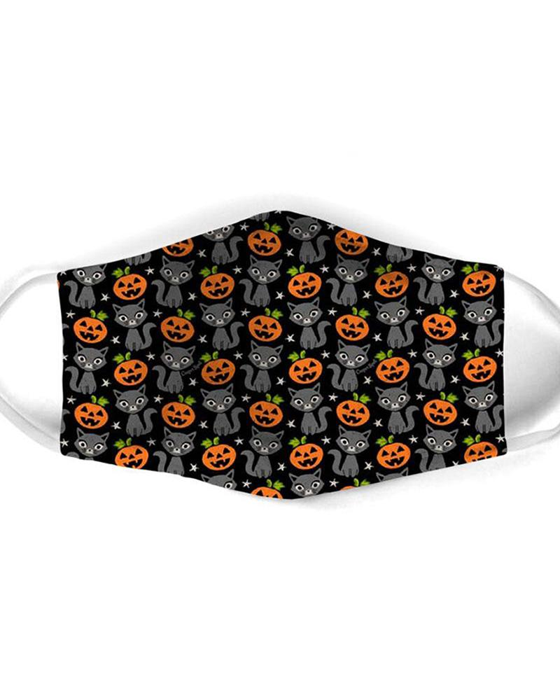 Halloween Mixed Print Breathable Mouth Mask фото