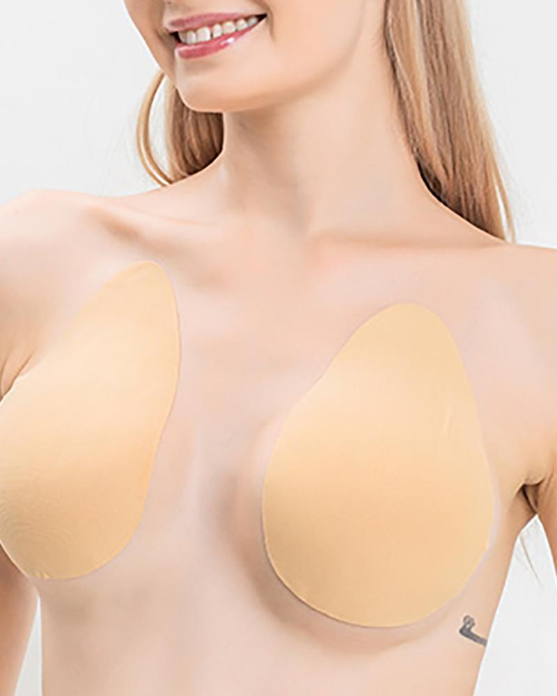Silicone Push Up Invisible Bra Adhesive Nipple Cover Bust Lifter фото