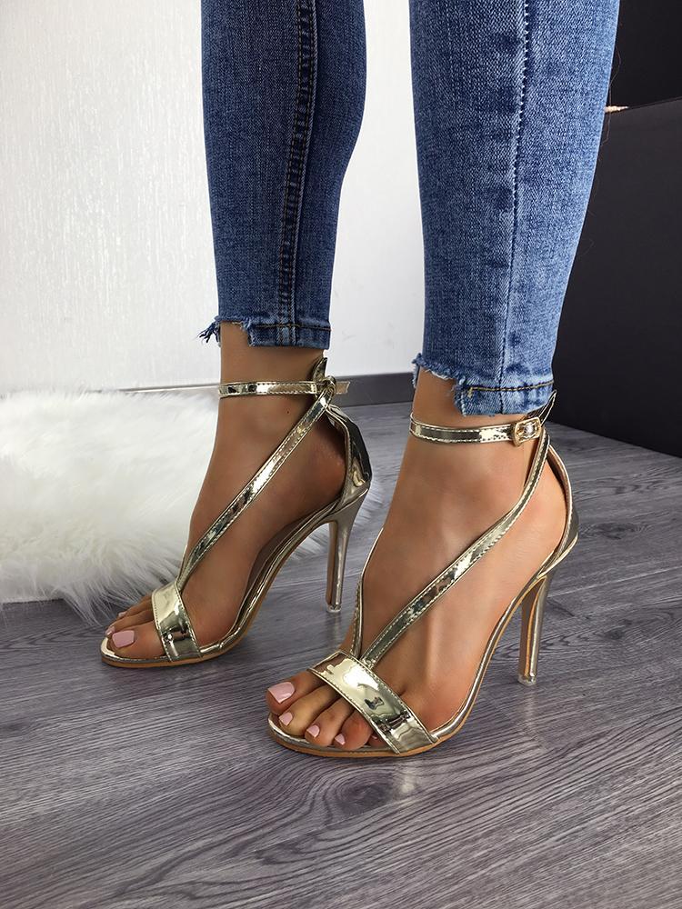 Купить со скидкой Lady's Roman Open Toe Cross Strappy Sandal Shoes