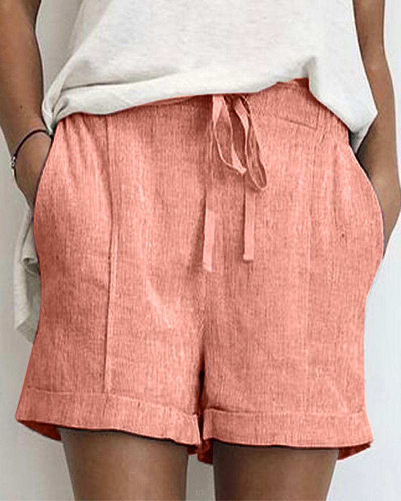 ivrose / Shorts con cordón sólido