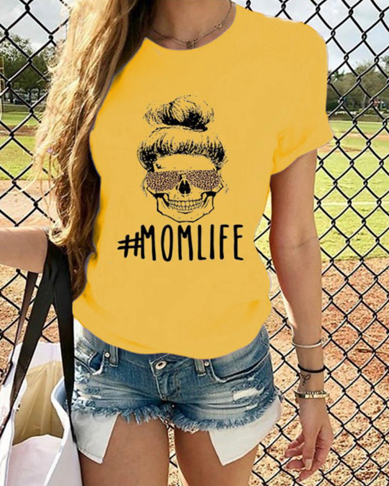 Mamalife Round Neck T-Shirt фото