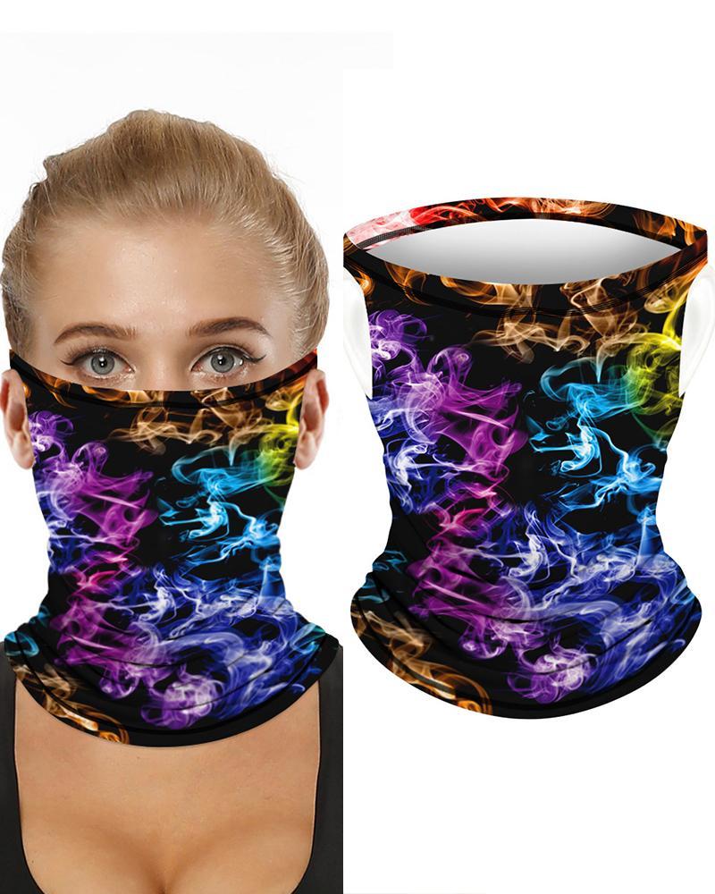 Colorblock Breathable Ear Loop FaceBandana Headwrap фото