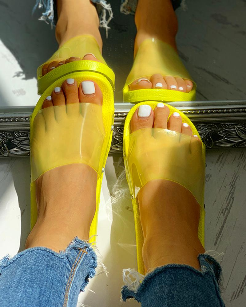 ivrose / Zapatillas de playa de colores