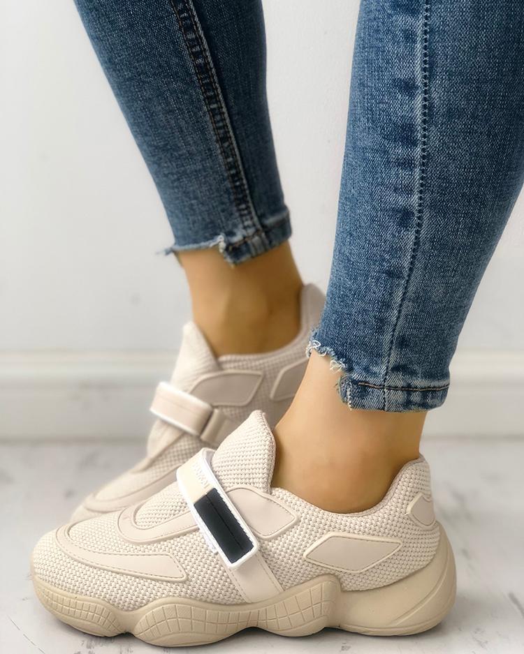 Net Surface Velcro Non-Slip Sneakers