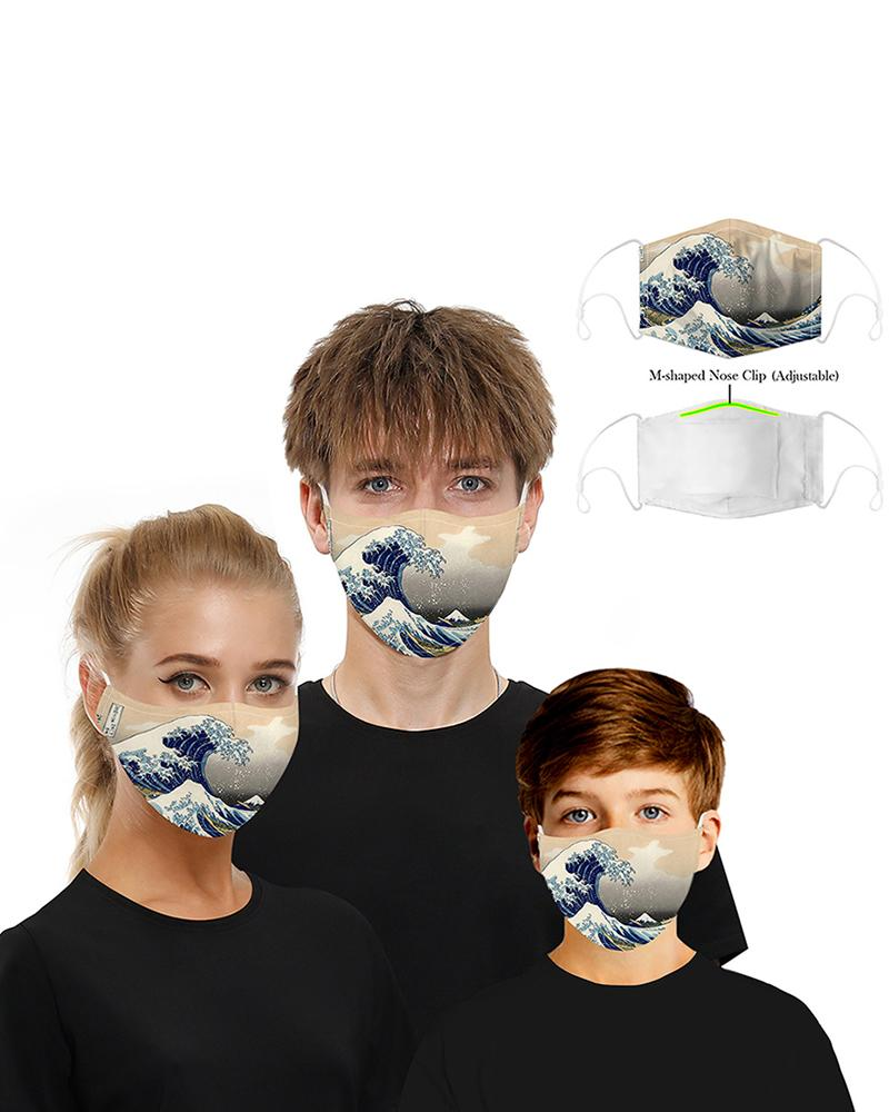 Print Breathable Mouth M .a. s. k Washable And Reusable фото
