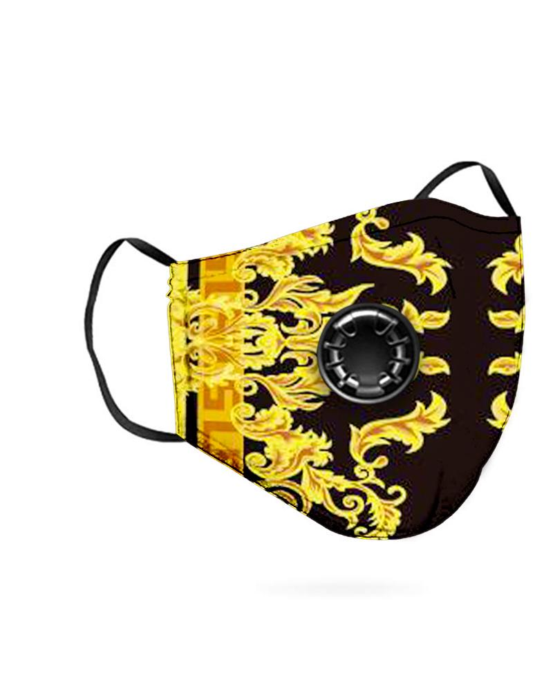 Print Breathing Washable Valve Face Mask (2 filters as gift) фото