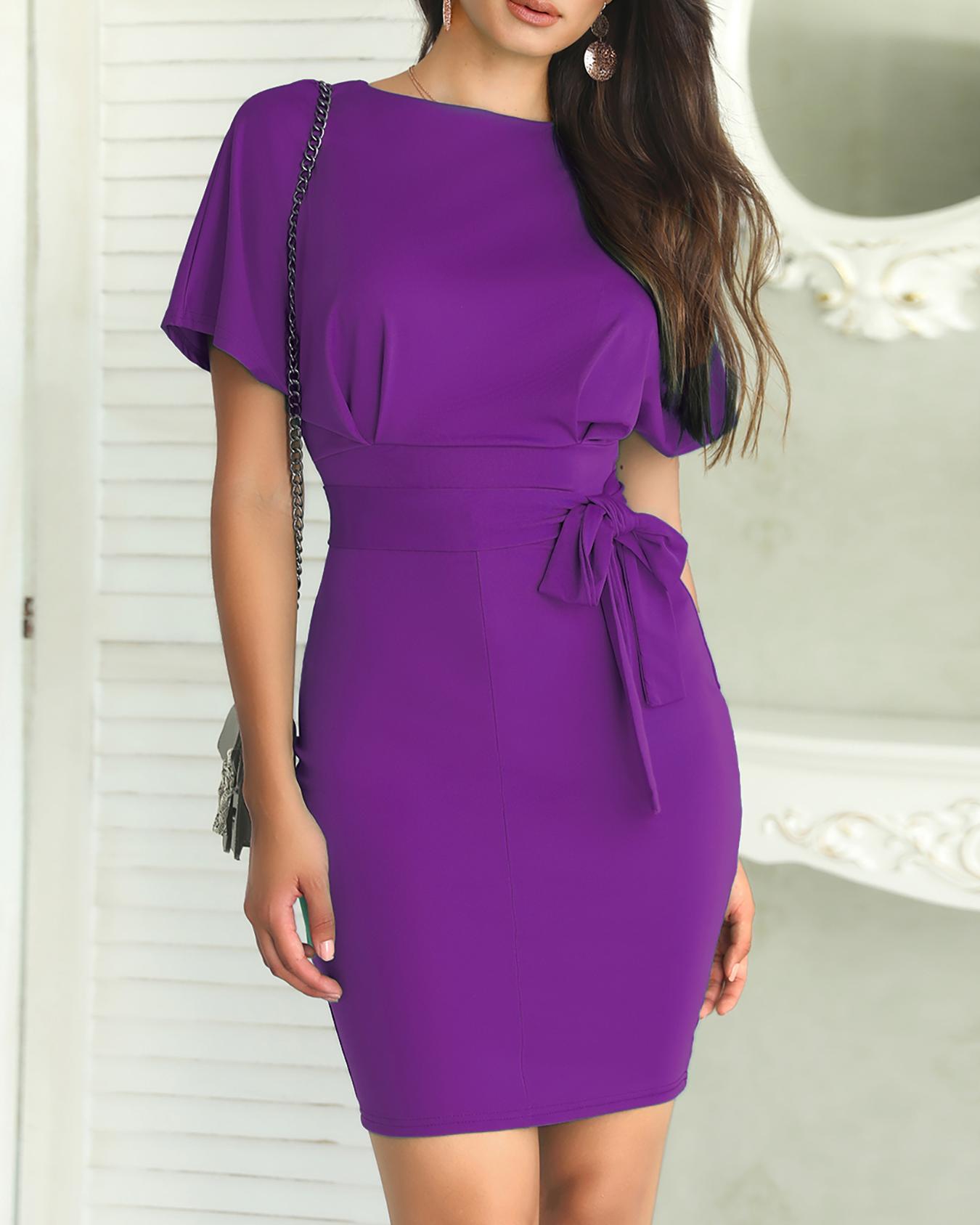 Tie Waist Midi Slip Dress фото