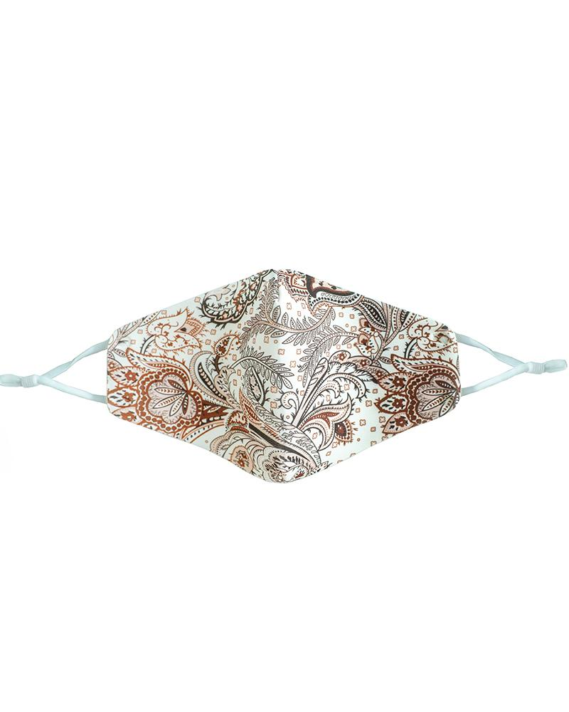Tropical / Floral / Paisley Print Breathable Face Mask фото