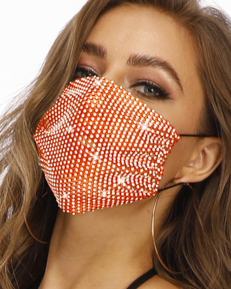 Studded Breathable Mouth Mask Washable And Reusable фото