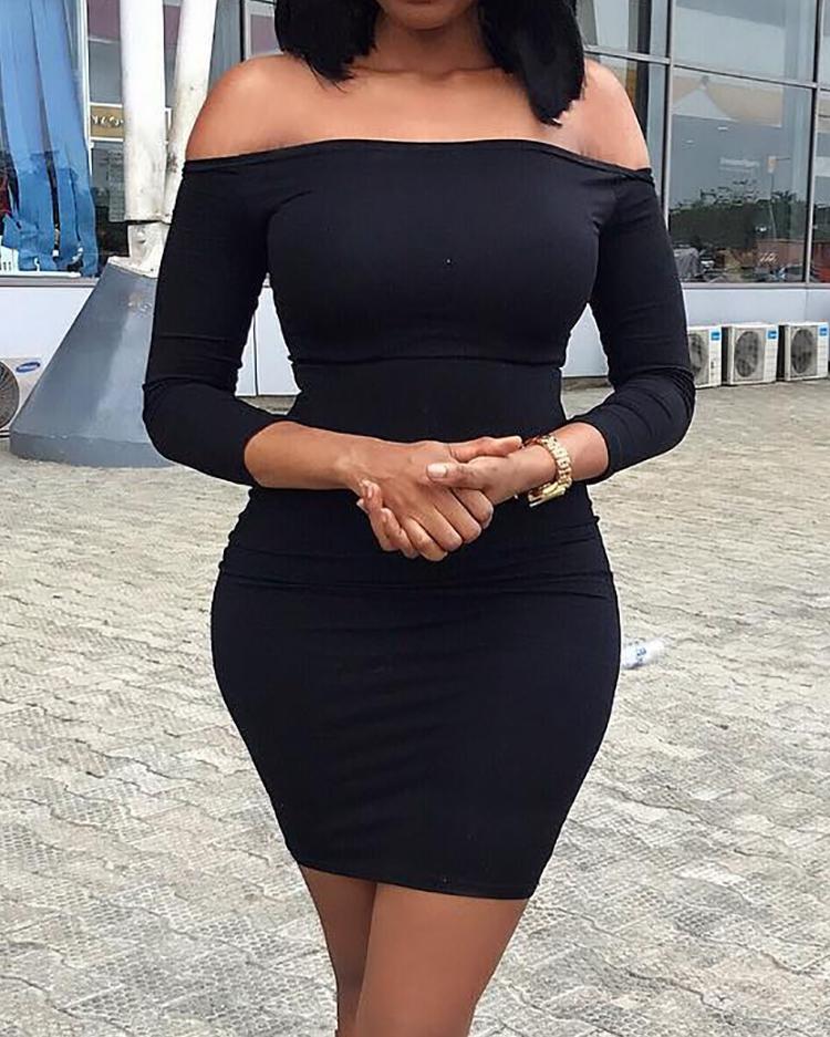 boutiquefeel / Mini vestido sin mangas con hombros descubiertos