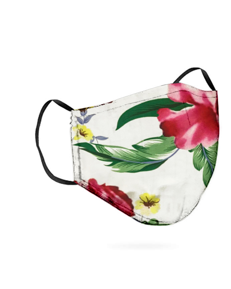Floral Print Breathable Mouth M .a. s. k Washable And Reusable фото