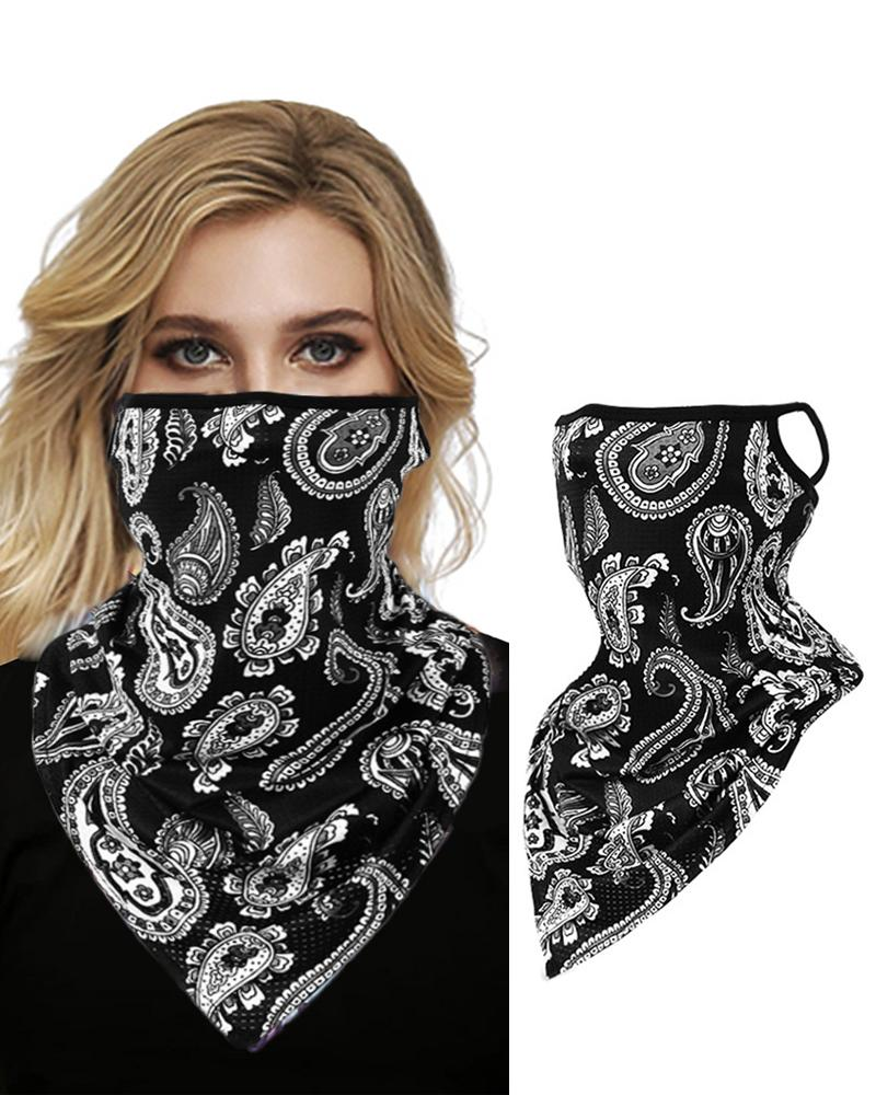 Colourful Print Breathable FaceBandana Magic Scarf Headwrap Balaclava фото