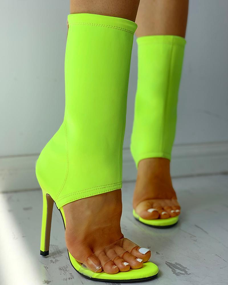 Снимите Ремень Тонкий Каблуках Носок Сапоги