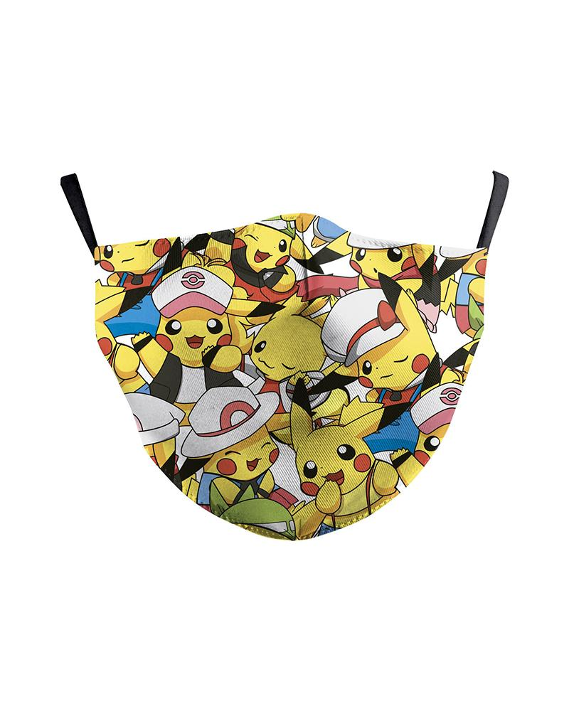 Cartoon / Floral / Bell Print Breathable Face Mask фото