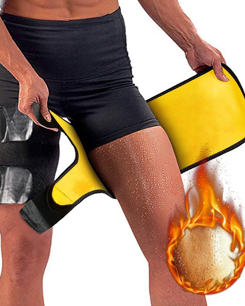 Thigh Trimmer Leg Shapers Slimming Belt Neoprene Sweat Shapewear фото