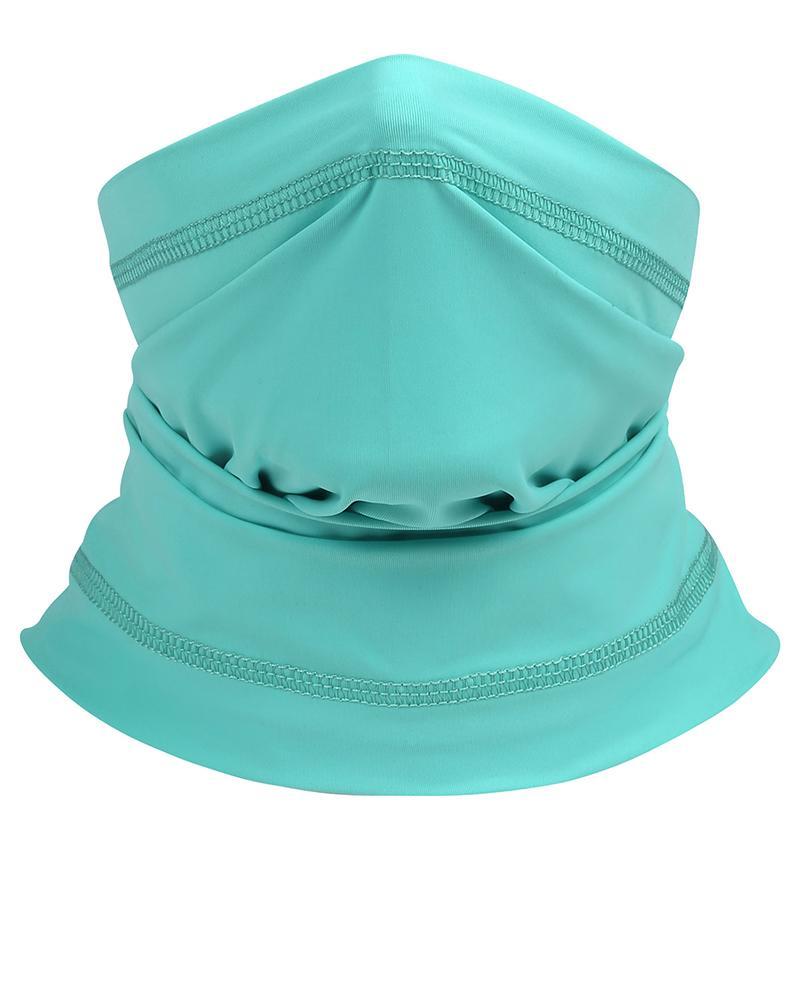 Solid Summer Neck Gaiter Face Cover Headwear Bandana фото