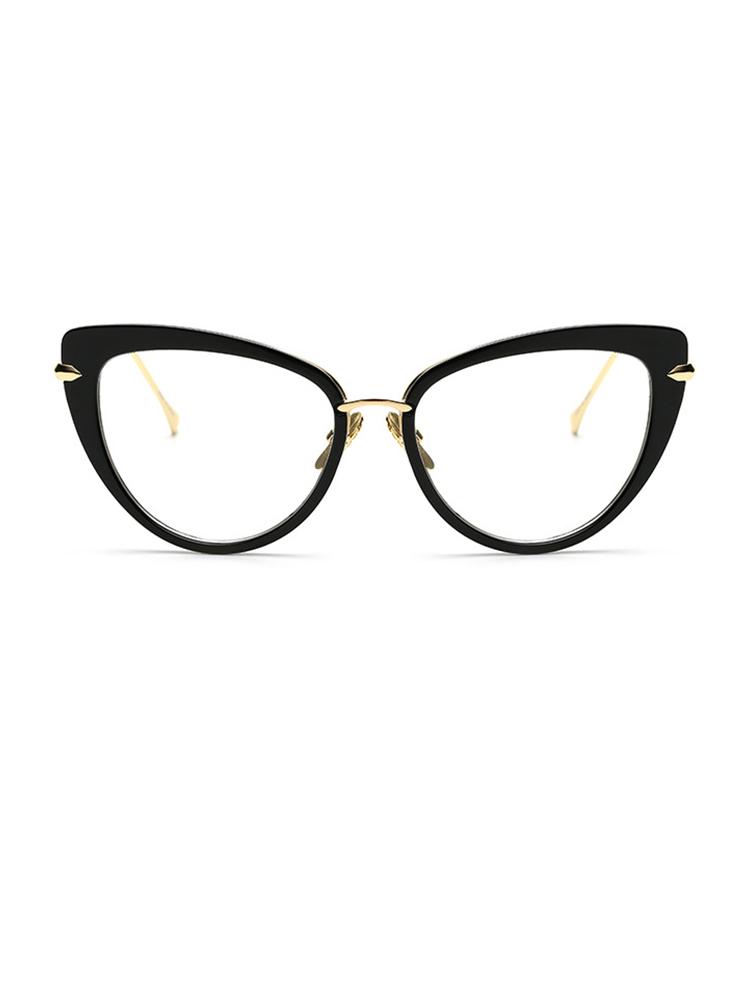Vintage Cat Eye Lens Sunglasses - White