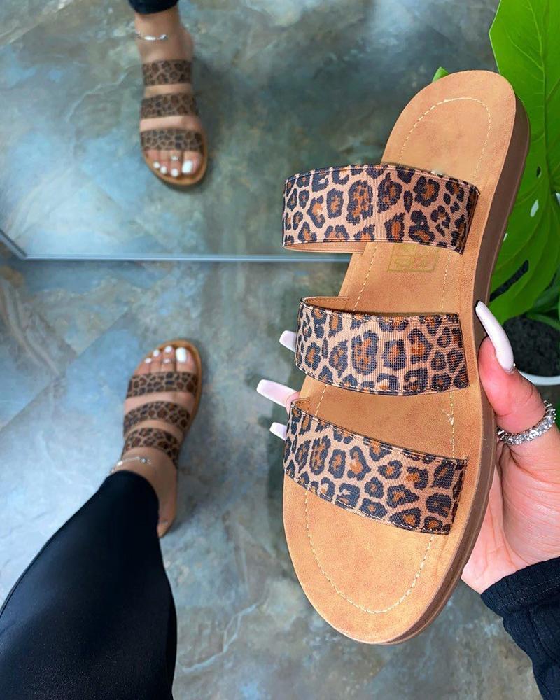 Open Toe Hollow Beach Sandals фото