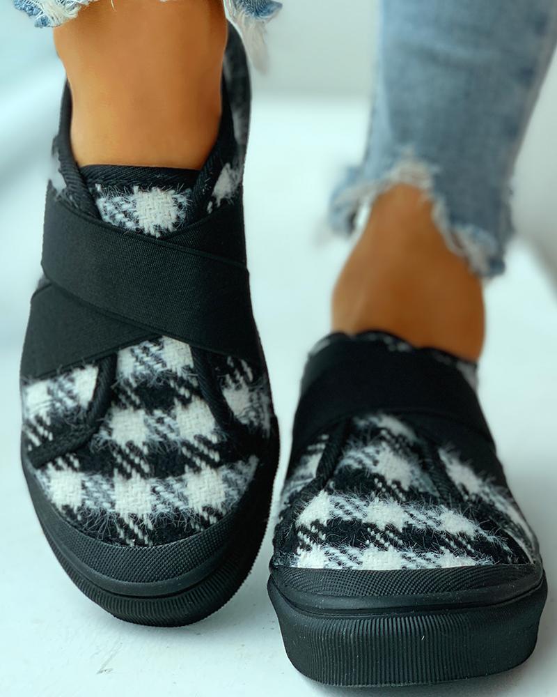 chicme / Zapatillas casual transpirables estampadas