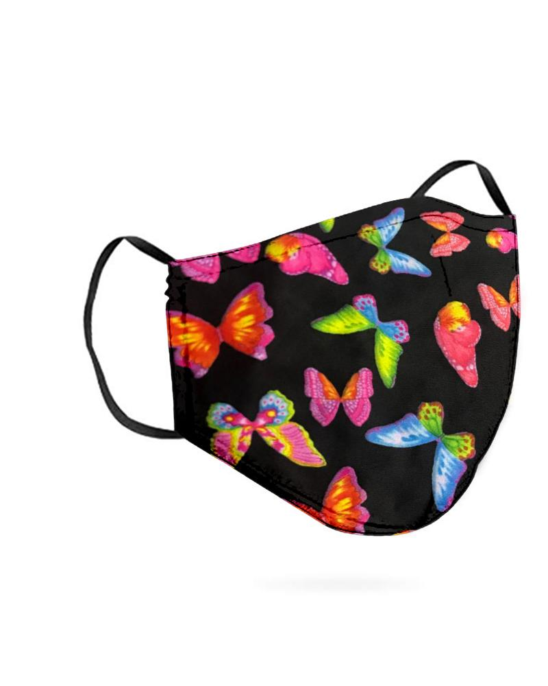 Butterfly Print Breathable Mouth M .a. s. k Washable And Reusable фото