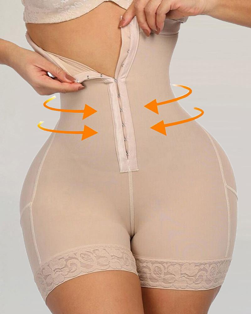 Lace Butt Lifter High Waist Trainer Body Shapewear Slimming Underwear With Tummy Control Panties фото