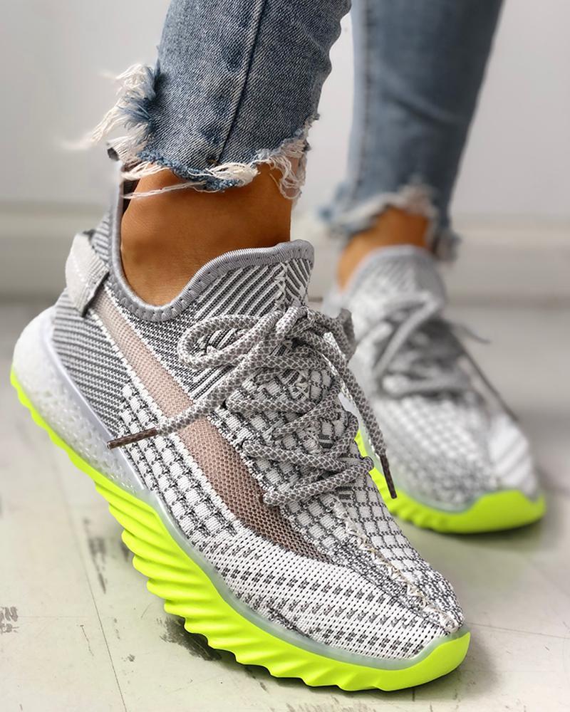 boutiquefeel / Zapatillas de deporte Yeezy con cordones transpirables y superficie neta