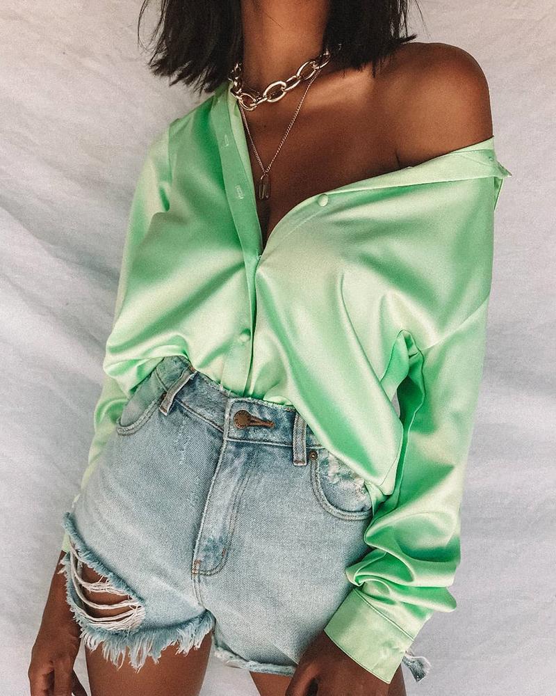boutiquefeel / Camisa de manga comprida com botões