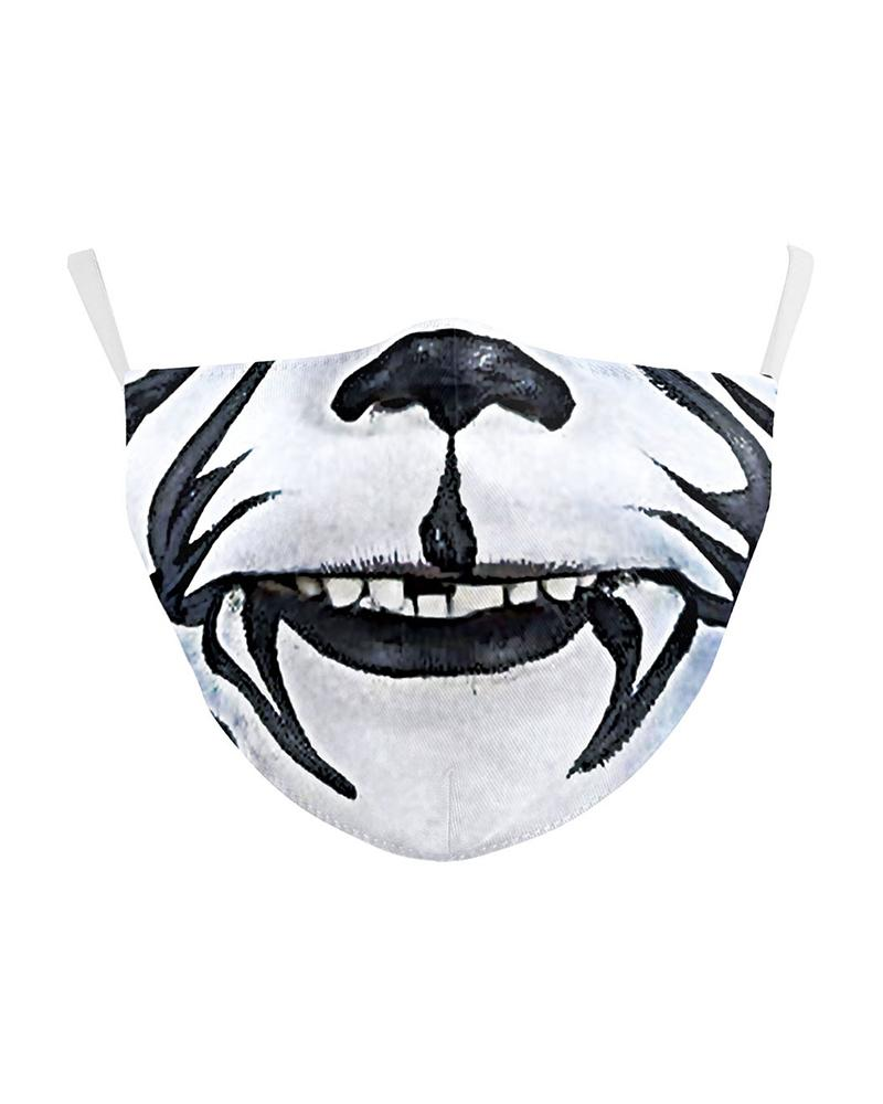Animal Mouth Print Breathable Face Mask фото