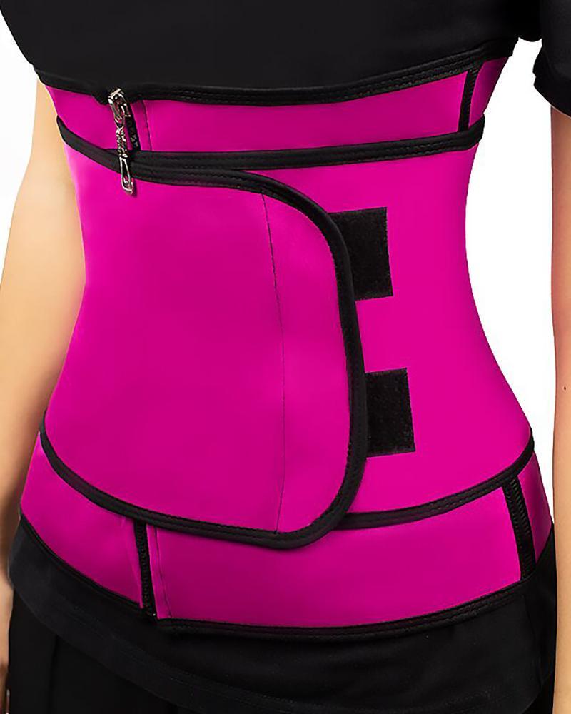 Waist Trainer Thermo Sweat Belt Tummy Body Shaper фото